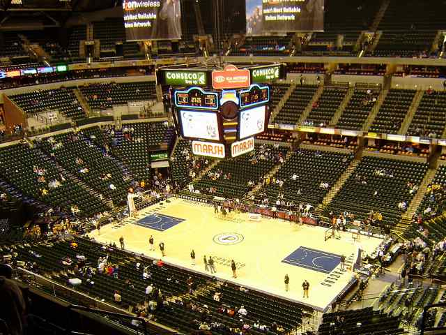 Indiana Pacers Balcony Seats