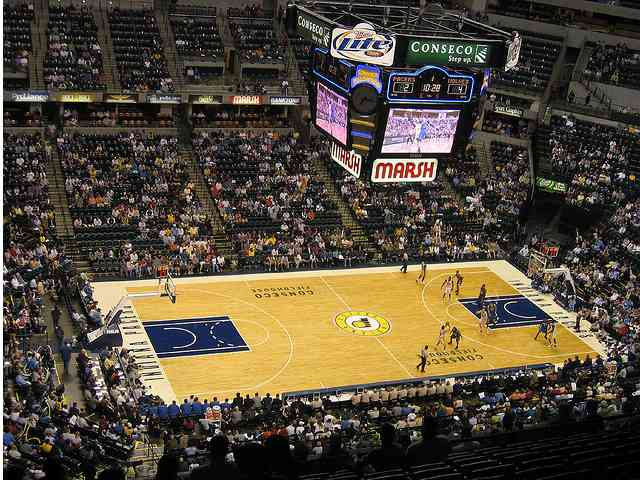 Indiana Pacers Club Seats