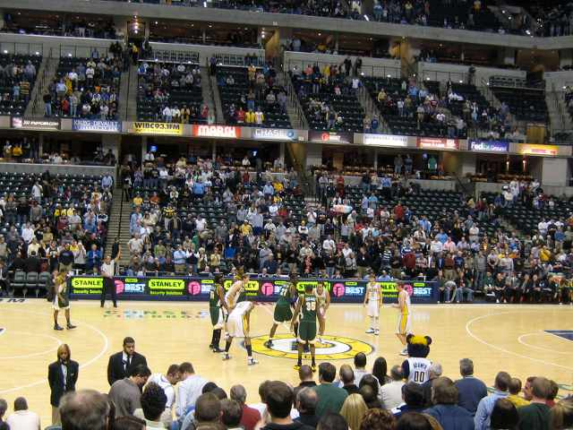 Indiana Pacers Lower Seats